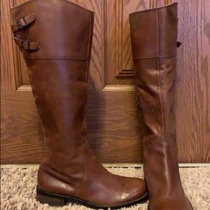 Vince Camuno Brown riding boots